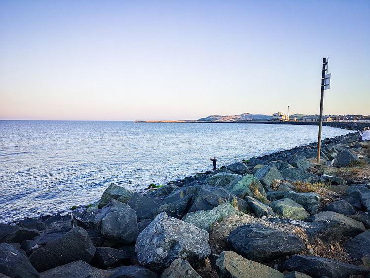Küste von Arklow Irland