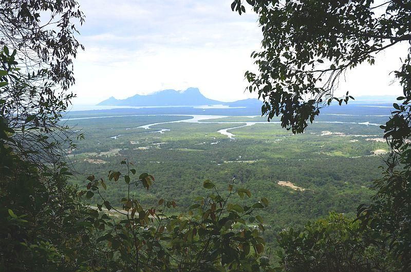 Aussicht Bako Nationalpark