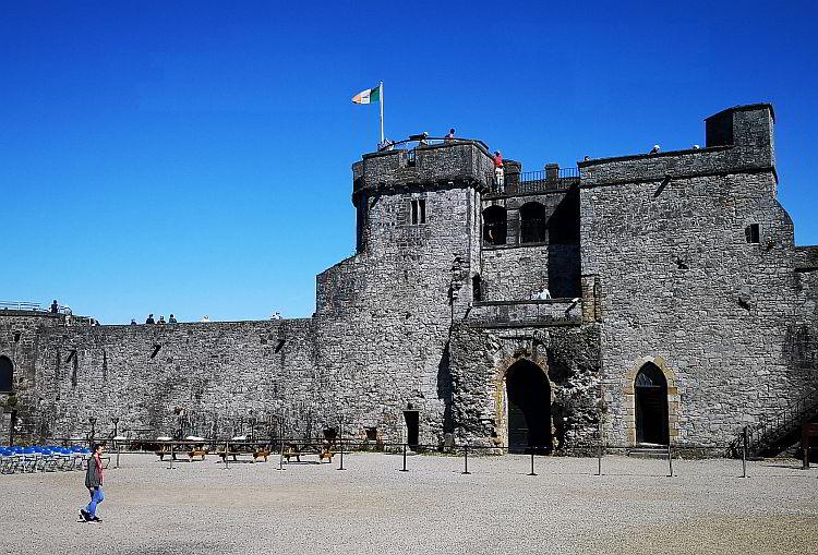St. John's Castle Limerick Irland