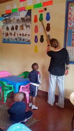Charity Children Center learning