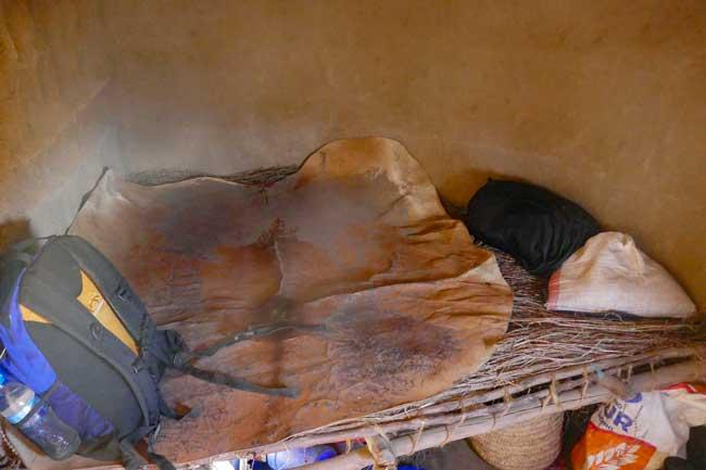 Schlaflager Maasais